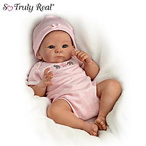 Tasha Edenholm Little Peanut Lifelike Poseable Baby Doll