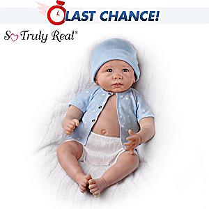 linda murray so truly real sweet baby liam baby boy doll