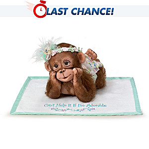"Cindy Sales ""I Can't Help It If I'm Adorable"" Monkey Baby"