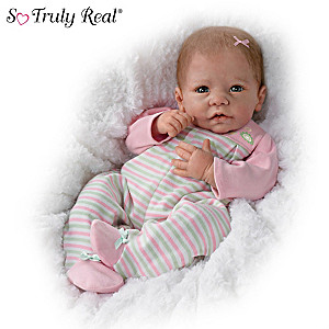Elizabeth Baby Doll By Artist Linda Murray