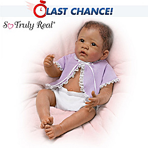 "Linda Murray ""Little Mia"" Lifelike Newborn Baby Girl Doll"