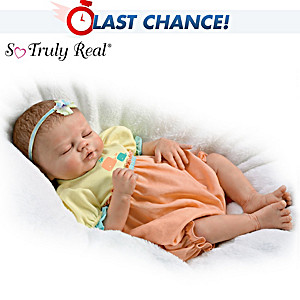 "Violet Parker ""Baby Of Mine"" Lifelike Baby Girl Doll"