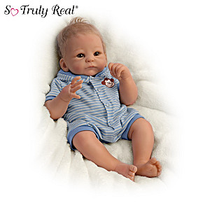 """Benjamin"" So Truly Real Baby Doll By Tasha Edenholm"