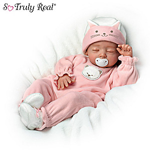 "So Truly Real ""Katie"" Poseable Baby Doll By Mayra Garza"