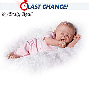 "Violet Parker ""So Sleepy Sophie"" Realistic Baby Girl Doll"