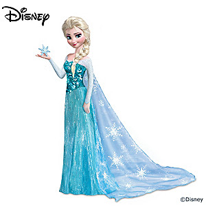 "Disney FROZEN Elsa Portrait Doll Sings ""Let It Go"""