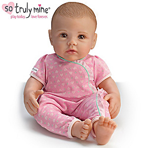 So Truly Mine Play Doll: Light Brown Hair, Brown Eyes