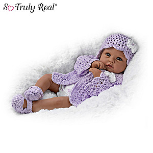 """Tiana Goes To Grandma's"" Poseable Baby Doll By Linda Murray"