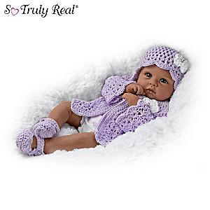 """Tiana Goes To Grandma's"" Poseable Baby Doll By Linda Murray"