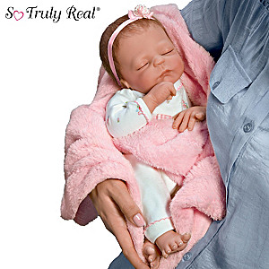 Violet Parker Cuddle Caitlyn Baby Doll With Warming Feature