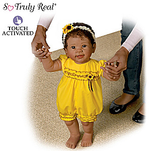"Linda Murray ""Kiara's First Steps"" Walking Baby Doll"