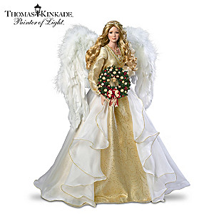 Thomas Kinkade Seasons Of Joy Bisque Porcelain Portrait Doll