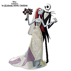 """Jack And Sally's Nightmare Romance"" Doll Set"