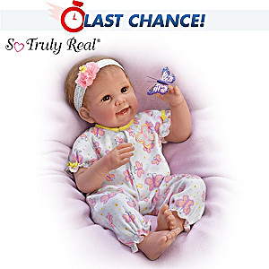"""Linda Murray """"Butterfly Kisses & Flower Petal Wishes"""" Doll"""