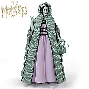 Lily Munster Poseable Talking Portrait Figure
