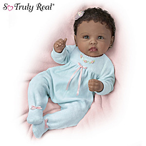 "Linda Murray So Truly Real ""Tiffany"" Baby Doll"