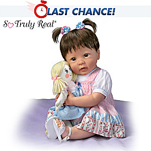 "Linda Murray ""Molly And Rags"" Pull String Baby Doll"