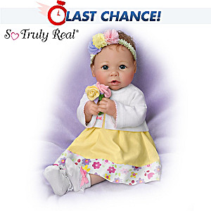 "Linda Murray ""Every Day Is Mother's Day"" Poseable Baby Doll"