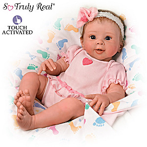 "Sherry Rawn ""Ella"" Realistic ""Breathing"" Baby Doll"