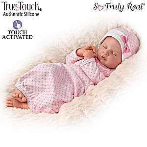 "Ina Volprich ""Breathing"" Silicone Baby Doll"