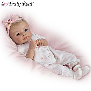 "Sherry Rawn ""Little Rosebud"" Baby Doll With Two Outfits"