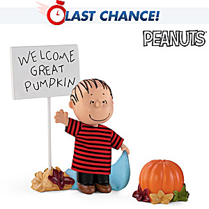 PEANUTS Linus Halloween Doll With Fabric Costume