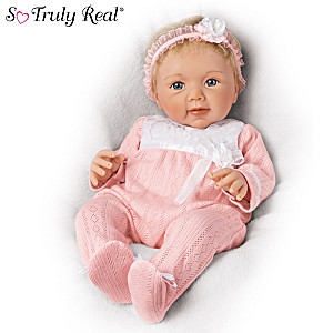 "Sherry Rawn ""Adorable Addison"" Lifelike Weighted Baby Doll"