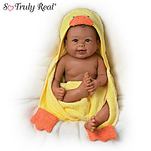"""Rub-A-Dub-Dub, Layla"" Baby Doll With Bath Accessories"