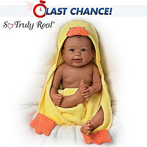 """""""Rub-A-Dub-Dub, Layla"""" Baby Doll With Bath Accessories"""