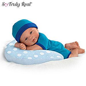 "Violet Parker ""Cuddle Buddy"" Baby Doll With Cozy Pillow"
