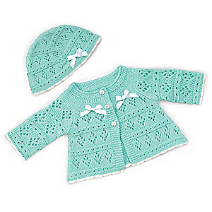 Sweater And Hat Baby Doll Accessory Set Size Medium