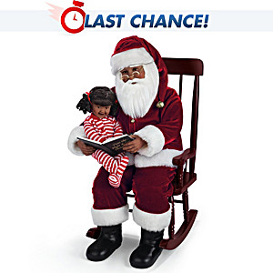 'Twas The Night Before Christmas Talking Portrait Doll Set
