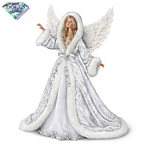 "Illuminated ""Silent Night"" Poseable Musical Angel Doll"
