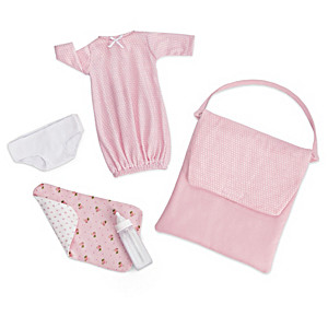 """Welcome Home"" Baby Doll Accessory Set For 10"" Dolls"