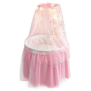 """""""Sweet Dreams"""" Bassinet With Canopy Featuring LED Lights"""