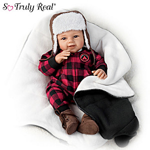 Sherry Rawn Happy Camper Baby Doll With Custom Sleeping Bag