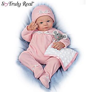 """Violet Parker """"Naptime For Nina"""" Lifelike Baby Doll"""