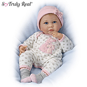 """Linda Murray So Truly Real """"Somebunny Loves You"""" Baby Doll"""