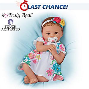 "Cheryl Hill Presley Lifelike Baby Doll That ""Coos"""