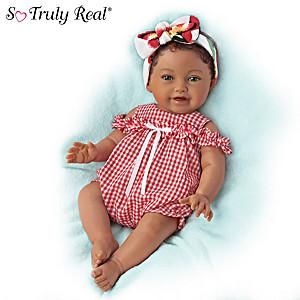"P. Lau ""Sasha"" Multi-Ethnic Lifelike Baby Doll"