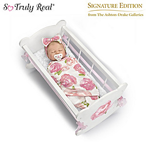 "Marissa May ""Rock-A-Bye Baby"" Baby Doll And Accessories Set"