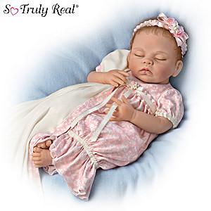 Linda Murray Lifelike Weighted Sleeping Baby Girl Doll