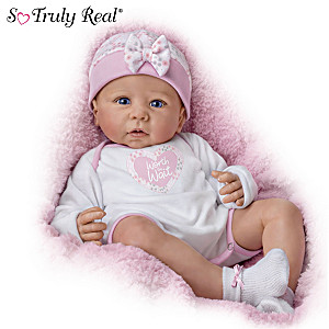 "Linda Murray ""Worth The Wait"" Poseable Weighted Baby Doll"