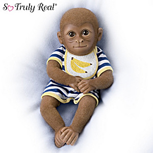 "So Truly Real ""Cody"" Monkey Baby Doll"