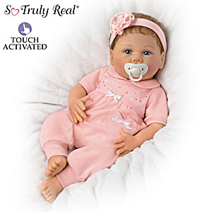 "Linda Murray Chloe Coos Baby Doll Who ""Breathes"" And ""Coos"""