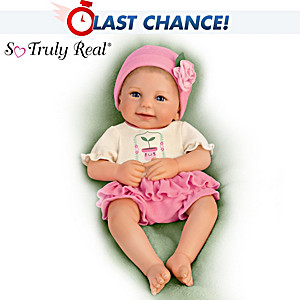 "Violet Parker ""Lil' Sprout"" Baby Girl Doll"