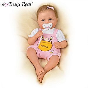"""Violet Parker """"My Little Honey"""" Baby Doll With Pacifier"""