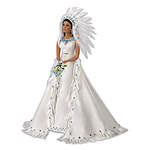 "Sandra Bilotto ""The Eternal Spirit"" Porcelain Bride Doll"