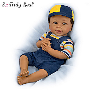 "Linda Murray ""Just Too Cute Jackson"" Lifelike Baby Boy Doll"