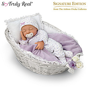 "Sherry Miller Adalyn ""Breathing"" Baby Doll With Accessories"